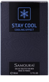 Samourai Stay Cool Eau de Toilette for Men 50 ml