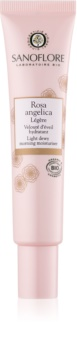 Sanoflore Rosa Angelica Creme hidratante iluminador para pele normal a mista