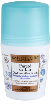 Sanoflore Déodorant Roll-On Deodorant Without Aluminum Content 24 h