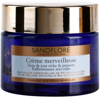 Sanoflore Merveilleuse creme nutitivo e refirmante antirrugas