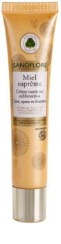 Sanoflore Miel Supreme Visage creme nutritivo para iluminar e alisar pele