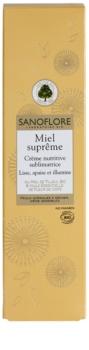 Sanoflore Miel Supreme Visage výživný krém pre rozjasnenie a vyhladenie pleti