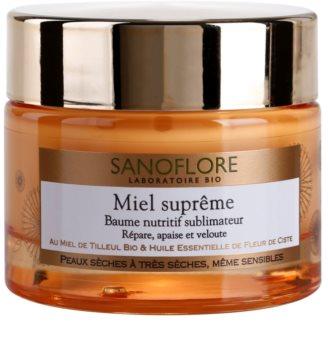 Sanoflore Miel Supreme Visage Nourishing Balm for Dry and Very Dry Skin