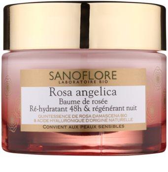 Sanoflore Rosa Angelica Hydrating Night Cream with Regenerative Effect