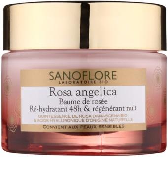 Sanoflore Rosa Angelica vlažilna nočna krema z regeneracijskim učinkom