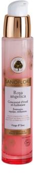 Sanoflore Rosa Angelica rozjasňujúce hydratačné sérum na tvár a oči
