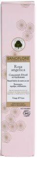 Sanoflore Rosa Angelica posvetlitveni in vlažilni serum za obraz in oči