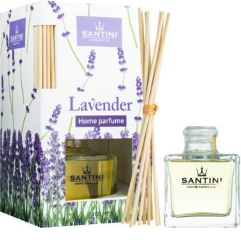 SANTINI Cosmetic Lavender Aroma Diffuser With Refill 100 ml