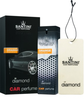 SANTINI Cosmetic Diamond Orange désodorisant voiture 50 ml