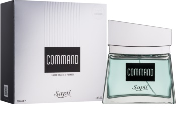 Sapil Command Eau de Toilette for Men 100 ml