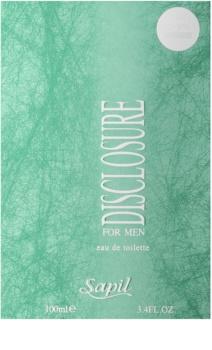 Sapil Disclosure Eau de Toilette voor Mannen 100 ml