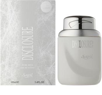 Sapil Disclosure White eau de toilette para hombre 100 ml