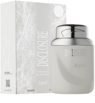 Sapil Disclosure White Eau de Toilette for Men 100 ml