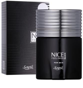 Sapil Nice Feelings Black eau de toilette pour homme 75 ml