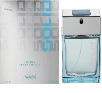 Sapil Solid woda toaletowa dla mężczyzn 100 ml