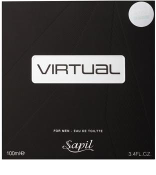 Sapil Virtual Eau de Toilette for Men 100 ml
