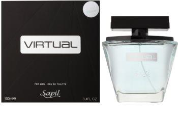 Sapil Virtual woda toaletowa dla mężczyzn 100 ml