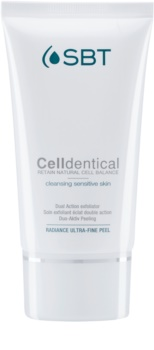 SBT Celldentical peelingový čisticí gel bez parfemace