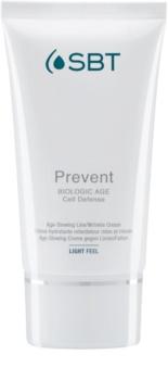 SBT Prevent hydratisierende und beruhigende Creme gegen die ersten Anzeichen von Hautalterung