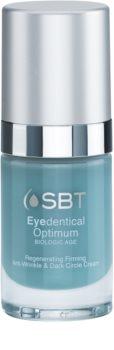 SBT Optimum Eyedentical crema de contorno de ojos para eliminar las ojeras y arrugas