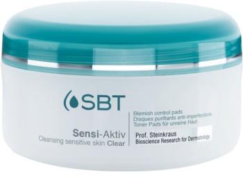 SBT Sensi Aktiv almohadillas limpiadoras para pieles sensibles