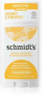 Schmidt's Coconut Pineapple Deodorant Stick