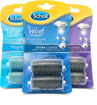 Scholl Velvet Smooth Regular Coarse kozmetická sada I.