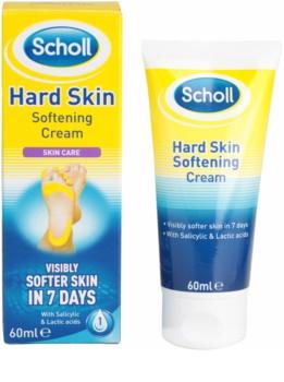 Scholl Hard Skin éjszakai puhító krém a kemény bőrre