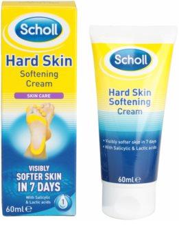 Scholl Hard Skin noční krém na změkčení ztvrdlé kůže