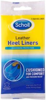 Scholl Heel Liners kožené výstelky za patu do obuvi