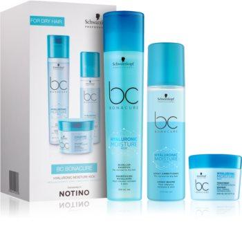 Schwarzkopf Professional BC Bonacure Hyaluronic Moisture Kick Gift Set I. (For Normal To Dry Hair) for Women