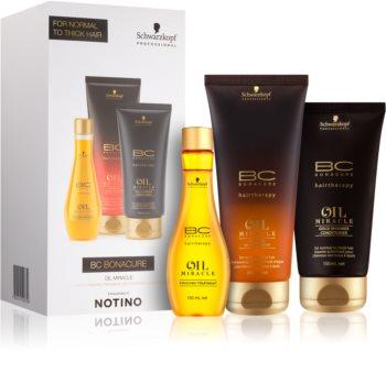 Schwarzkopf Professional BC Bonacure Oil Miracle Argan Oil Gift Set I. (For Coarse Hair)