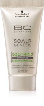 Schwarzkopf Professional BC Bonacure Scalp Genesis shampoing apaisant pour cheveux secs et cuir chevelu sensible