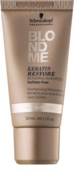Schwarzkopf Professional Blondme keratinový regenerační šampon pro blond vlasy