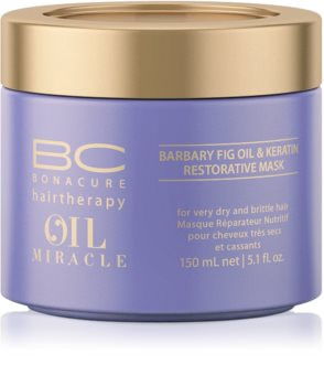 Schwarzkopf Professional BC Bonacure Oil Miracle Barbary Fig Oil Hair Mask For Very Dry And Damaged Hair