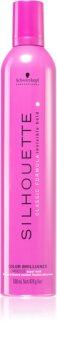 Schwarzkopf Professional Silhouette Color Brilliance pianka do włosów utrwalająca mocno utrwalający