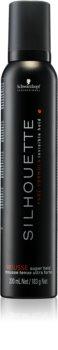 Schwarzkopf Professional Silhouette Super Hold espuma para el cabello fijación fuerte
