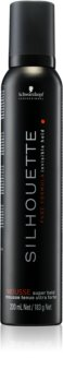 Schwarzkopf Professional Silhouette Super Hold Hair Mousse Strong Firming