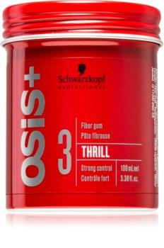 Schwarzkopf Professional Osis+ Thrill Texture Modellierendes Fibre Gum starke Fixierung
