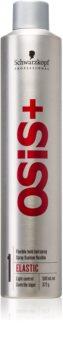 Schwarzkopf Professional Osis+ Elastic Finish laca de cabelo para fixação natural