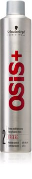 Schwarzkopf Professional Osis+ Freeze Finish Hairspray Strong Firming