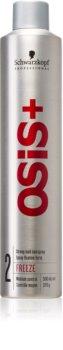 Schwarzkopf Professional Osis+ Freeze Finish lak na vlasy silné spevnenie