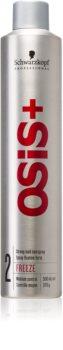 Schwarzkopf Professional Osis+ Freeze Finish lakier do włosów mocno utrwalający