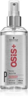 Schwarzkopf Professional Osis+ Hairbody Volume pripravno pršilo pred oblikovanjem