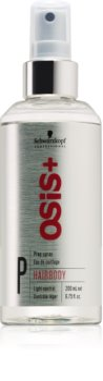 Schwarzkopf Professional Osis+ Hairbody Volume spray preparatorio prima dello styling