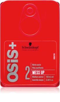 Schwarzkopf Professional Osis+ Mess Up Matterende Pasta  Medium Fixatie