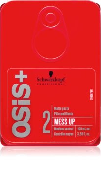 Schwarzkopf Professional Osis+ Mess Up pasta matificante fijación media