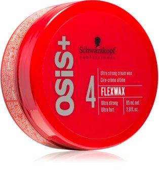 Schwarzkopf Professional Osis+ FlexWax восък - крем ултра силна фиксация