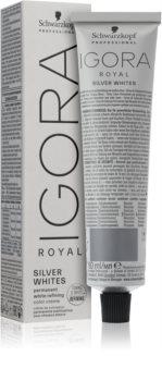 Schwarzkopf Professional IGORA Royal Absolutes SilverWhite tónico suave para o cabelo maduro