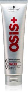Schwarzkopf Professional Osis+ Tame Wild crema lisciante contro i capelli crespi